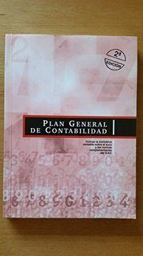 portada Plan General de Contabilidad: Normativa Contable Sobre el Euro y Normas Complementarias del I. Co A. Co