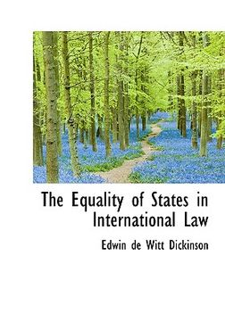 portada the equality of states in international law