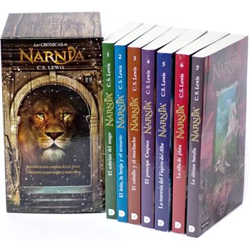 portada Las Cronicas de Narnia. Estuche Serie Completa. 7 Libros