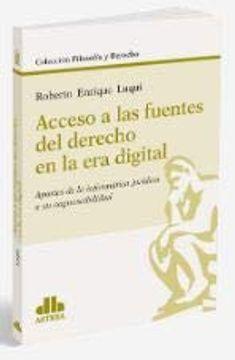portada Acceso a las Fuentes del Derecho en la era Digital