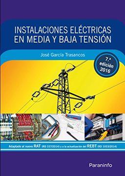portada Instalaciones Eléctricas en Media y Baja Tensión 7. ª Edición