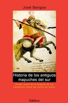 portada Historia de los Antiguos Mapuches