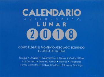 portada Calendario Astrológico Lunar 2018