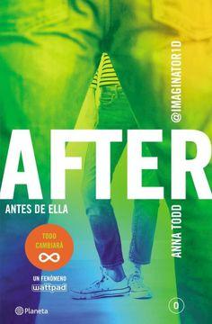 portada After Antes de Ella (Saga After 0) (Rustico)