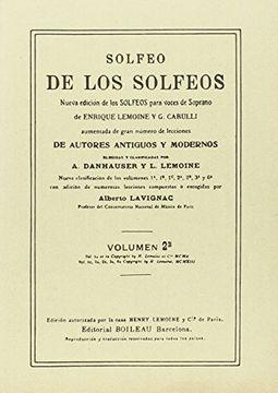 portada Solfeo de los Solfeos. (Volumen 2. B). (Solfeo). (Ref: B) 0737)