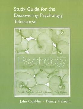 portada psychology: core concepts: student guide for the discovering psychology telecourse