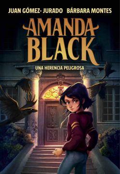 portada Una Herencia Peligrosa (Amanda Black 1)