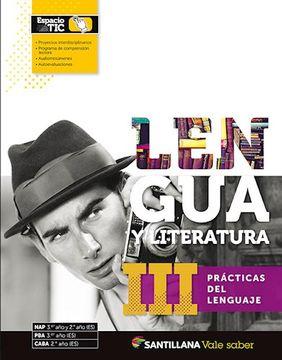 portada Lengua y Literatura 3 Santillana Vale Saber Practicas del Lenguaje