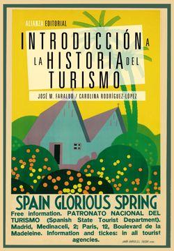 portada Introducción a la Historia del Turismo