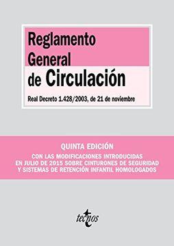 portada Reglamento General de Circulación