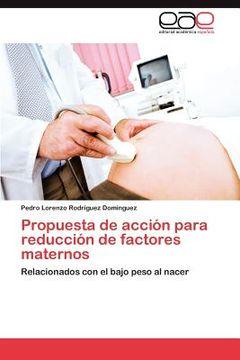 portada propuesta de acci n para reducci n de factores maternos