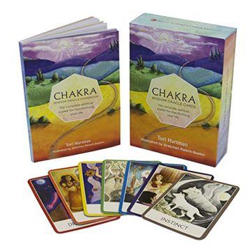 portada Tarjetas de Sabiduría Oracle: The Complete Chakra Espiritual Toolkit Para Transformar su Vida por Tori Tarjetas Hartman (27-May-2014) (libro en Inglés)