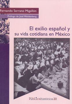 portada El Exilio Español y su Vida Cotidiana en Mexico