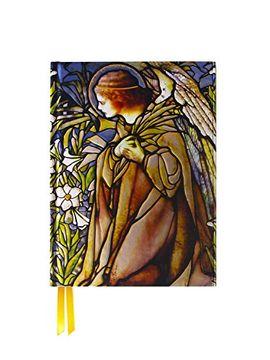 portada Tiffany Angel Stained Glass Window (Foiled Journal) (Flame Tree Notebooks)