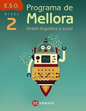 portada Programa de mellora. Ámbito lingüístico e social. Nivel 2 (Libros De Texto - Educación Secundaria Obrigatoria - Lingua) - 9788491212287