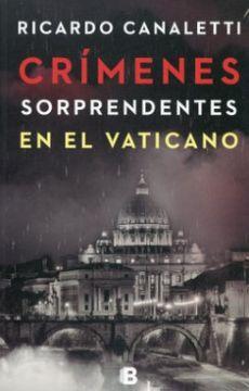portada Crimenes Sorprendentes en el Vaticano