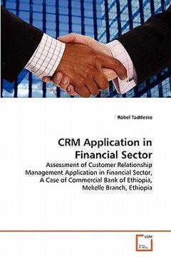 portada crm application in financial sector