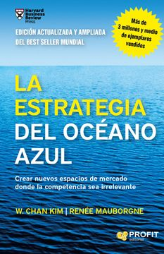 portada La Estrategia del Oceano Azul