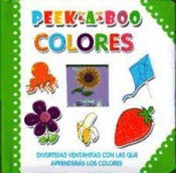 portada Peek a Boo. Colores
