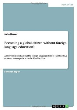 portada Becoming a global citizen without foreign language education?