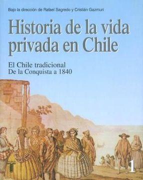 portada Historia de la Vida Privada en Chile