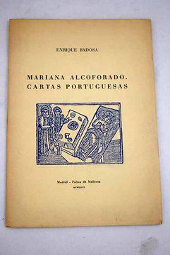 portada Mariana Alcoforado. Cartas portuguesas