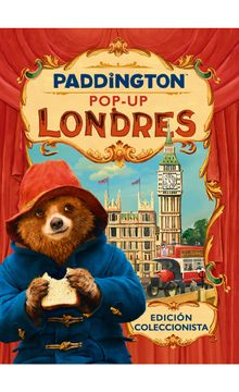 portada Paddington Pop-Up Londrés (Harperkids)