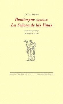 portada Romiosyne Seguido de la Señora de las Viñas
