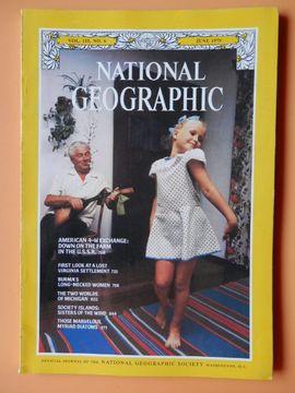 portada National Geographic. Vol. 155, No. 6. June 1979