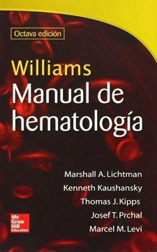 portada Williams Manual de Hematologia