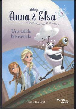 portada Anna & Elsa  ¡tener A Una Hermana Es Magico!