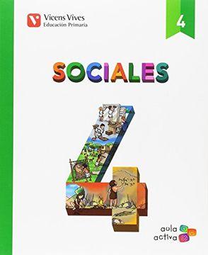 portada SOCIALES 4+ EXTREMADURA SEPARATA (AULA ACTIVA)