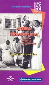 portada Otma Nicolaievna: As catro grandes descoñecidas (Biblioteca Nova 33)