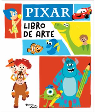 portada Pixar. Libro de arte