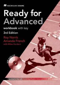 portada Ready for adv wb +Key pk 3rd ed (libro en Inglés)