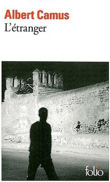 portada L'étranger (libro en francés)