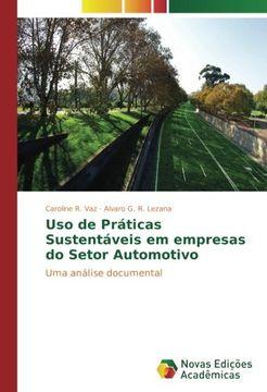 portada Uso de Práticas Sustentáveis em empresas do Setor Automotivo: Uma análise documental