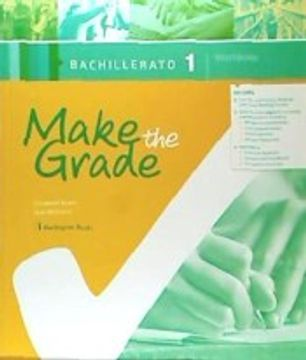 portada Make the Grade 1º Bachillerato Workbook spa Burlington 2018 (libro en inglés)