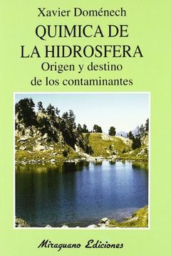 portada Química de la Hidrosfera. Origen y Destino de los Contaminantes