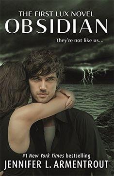 portada Obsidian (Lux) (libro en Inglés)