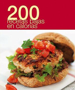 portada 200 Recetas Bajas en Calorias