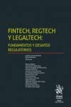portada Fintech, Regtech y Legaltech: Fundamentos y Desafíos Regulatorios (Esfera)