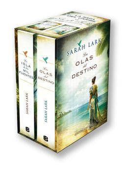 portada Bilogía Sarah Lark (Saga del Caribe): Estuche Con: La Isla de las mil Fuentes | las Olas del Destino (Grandes Novelas)