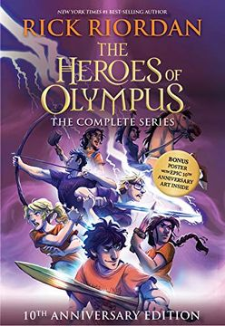 portada The Heroes of Olympus Paperback Boxed set (libro en Inglés)