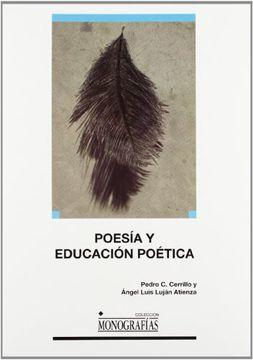 portada Poesía y Educación Poética
