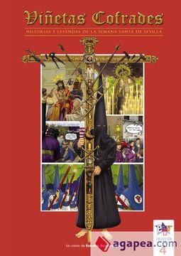 portada Viñetas Cofrades 4: Historias y Leyendas de la Semana Santa de Sevilla