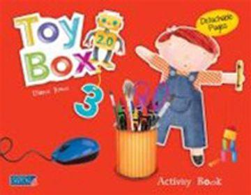 portada Toy box 2. 0 us Activity Book 3 (Toy box 2,0 Version Americana) (libro en Inglés)