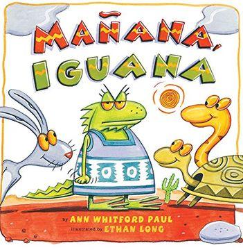 portada Manana, Iguana (libro en Inglés)