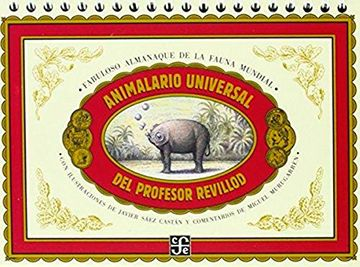 portada Animalario Universal del Profesor Revillod