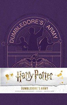 portada Harry Potter: Dumbledore's Army Hardcover Ruled Journal (libro en Inglés)